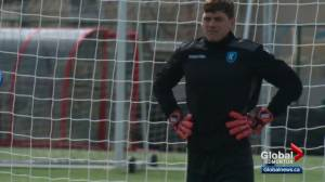 A closer look at FC Edmonton goalkeeper Connor James