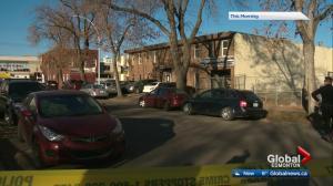 Edmonton police investigate apparent shooting downtown