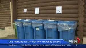 New recycling rules for Calgary businesses