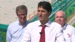 Trudeau says he will be sharp when intolerance and fear are used as strategies to get elected