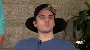'Pain is temporary': Paralyzed Humboldt player maintaining perspective