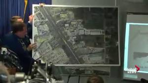 Louisiana State Police show maps detailing Gavin Long's position during shooting of police officers