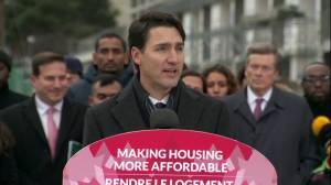 Justin Trudeau announces national housing strategy