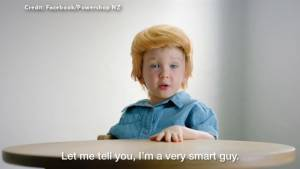 Kids spoof Donald Trump in New Zealand power company commercial