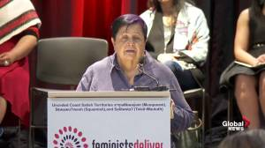Indigenous women call on Trudeau's cabinet to ensure they're equal in law