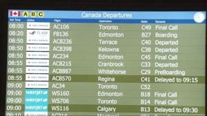 Power restored at YVR domestic terminal after outage