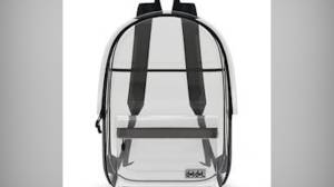 Students required to use clear backpacks at Marjory Stoneman Douglas High School