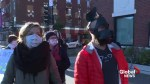 Montrealers protest Quebec's religious neutrality bill