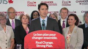Trudeau promises no toll for Champlain Bridge