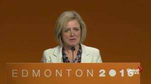 Alberta premier Rachel Notley says they're making progress