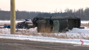 1 dead, 7 injured in Caledon crash