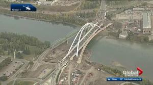 Edmonton's new Walterdale Bridge opens to traffic Monday morning