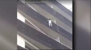 """French citizenship offered to migrant hailed """"Spider-Man"""" for rescuing child"""