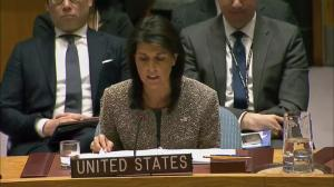 Nikki Haley calls on all UN nations to cut all ties with North Korea