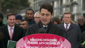'Housing rights are human rights': Trudeau describes housing strategy
