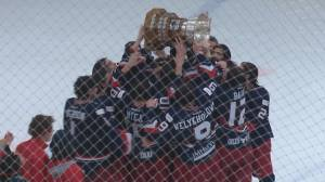 Brooks Bandits gun for national title after winning 3rd AJHL championship in 5 (02:01)