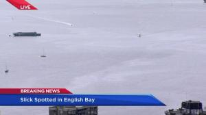 Large fuel slick spotted in English Bay