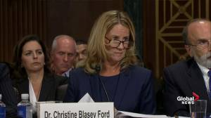 Christine Ford outlines specific details of day Brett Kavanaugh allegedly assaulted her