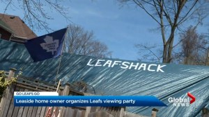 Leaf Shack viewing party