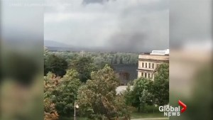 Deputy press secretary for Minister Jim Carr tweets video of Gatineau storm