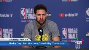Klay Thompson: I like Drake as a musician, not as a Raptors fan