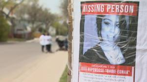 Jenaya Wapemoose's family searching for answers, again