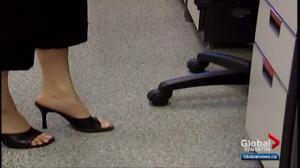 Workplaces in Alberta no longer allowed to mandate high heels for employees