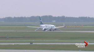 Third threat against Canadian flight in a week