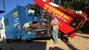 Flat-Earther to launch self in rocket made of spare parts in hopes of proving his theory