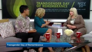 Transgender awareness week culminates with the Transgender Day of Remembrance