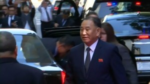 North Korean envoy arrives in New York for talks