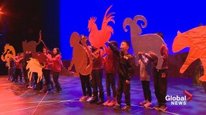 First Nations elder join Calgary school's Chinese New Year celebration
