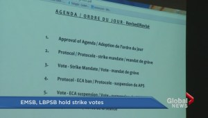LBPSB and EMSB strike votes