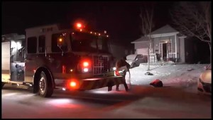 Neighbours come to aid of woman in house fire in Peterborough