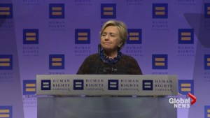 'Makes my heart sink': Hillary Clinton expresses concern over transgender military ban