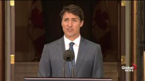 Trudeau says cabinet shuffle partly a result of changing U.S. relationship