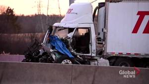 Driver in life-threatening condition after Hwy. 6 collision (00:47)
