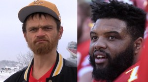 Homeless man helps Kansas City Chiefs' Jeff Allen get to game after being stranded, gets tickets to championship