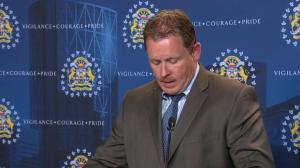 RAW: Calgary police on charges in relation to Crescent Heights death
