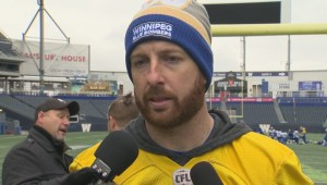 RAW: Blue Bombers Matt Nichols Interview – Oct. 9