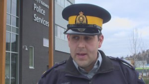 Extended RCMP interview on serious Kelowna crash
