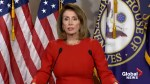 Nancy Pelosi calls Trump claim that wind turbines cause cancer 'idiotic'