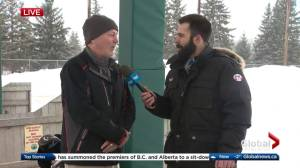 Edmonton golf course embraces winter weather and opens anyways