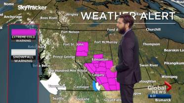 Oh Cold Snap! Edmonton set to break its 21-year-old weather