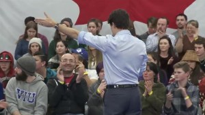 Trudeau shuts down hecklers, orders them to leave