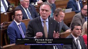 Peter Kent calls on Prime Minister to remove the fisheries minister