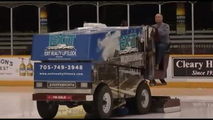 Zamboni driver Gary 'Booter' Parnell retiring after 35 years at the Memorial Centre