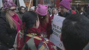 Thousands take part in Calgary's Women's March