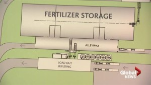 $41.8M fertilizer terminal to be built near Grassy Lake