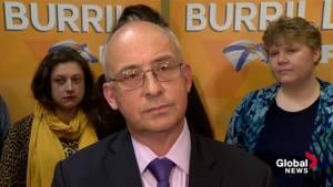 Nova Scotia NDP Leader Gary Burrill responds to Liberal campaign staff controversies